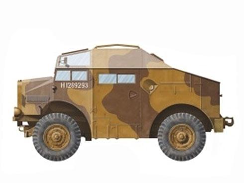 Morris C8 FAT Mk.II, 1ª División Blindada Polaca, 2º Regimiento de Artillería Motorizada, Escocia, 1943.