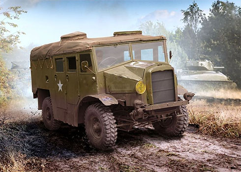 Morris C8 QUAD Mk.III, Ejército de los Estados Unidos, Bélgica, 1945.