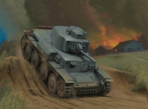 Panzer Kpfw.38 (t) Ausf.G, Frente del Este, verano de 1943.