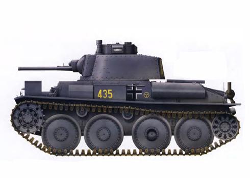 Panzerkampfwagen 38(t) Ausf E., 29º Regimiento Panzer, 12ª División Panzer, Frente Oriental, 1941.