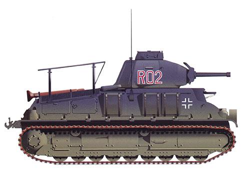 Somua S-35, 201º Regimiento Panzer, Francia, 1941.