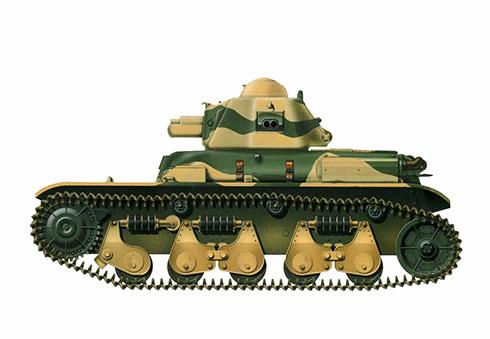 Este Renault R-35 fue capturado por las tropas Australianas en Siria, 1941.