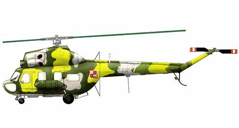 Mil Mi-2 D Hoplite, 56º Escuadrón de Helicópteros de combate, Fuerza Aérea Polaca.