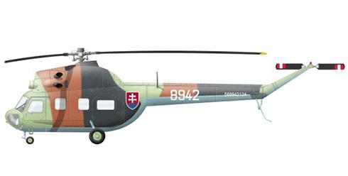Mil Mi-2 Hoplite, Fuerza Aérea Eslovaca.