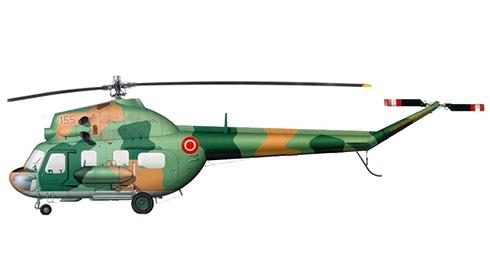 Mil Mi-2 P Hoplite, Fuerza Aérea de Letonia.