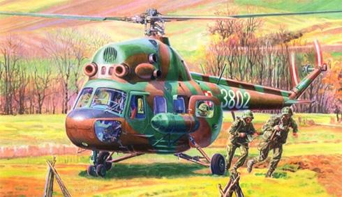 Mil Mi-2 T Hoplite, trasnporte de comandos, Fuerza Aérea de Polaca.