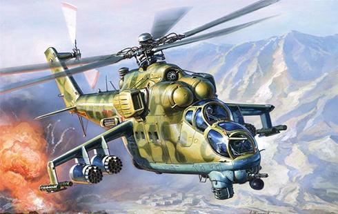 Mil Mi-24 F Hind