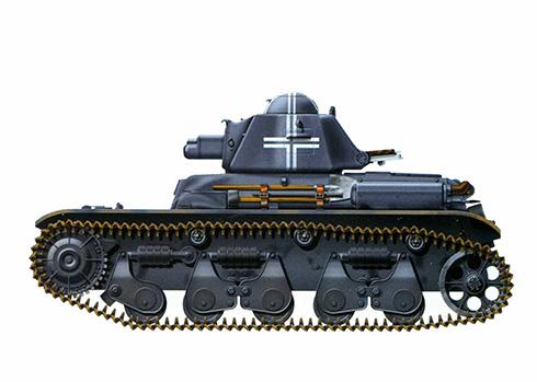 Panzerkampwagen 731 R (f), Francia, 1941.
