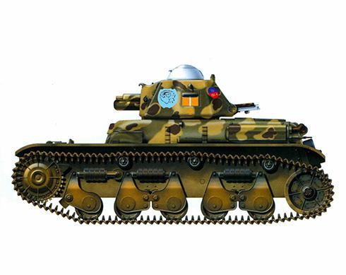 R35 capturado y cedido a los italianos perteneciente al 9º Grupo Móvil, Sicilia, 1943.