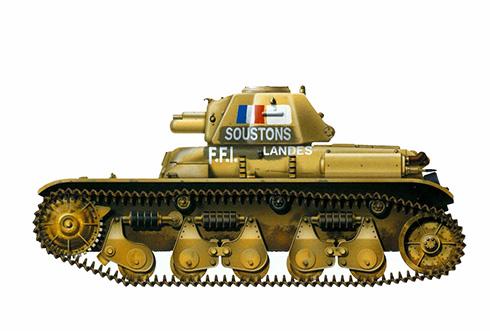 renault-r-35-capturados-por-el-ffi-forces-francaises-de-linterieur-en-agosto-de-1944