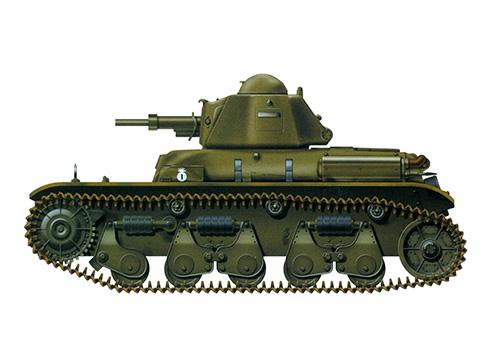 Renault R-35 de las Fuerzas de Ocupación en Alemania, 1945.