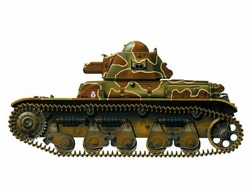 Renault R35, Batallón de Carros de Combate no identificado, 1939.