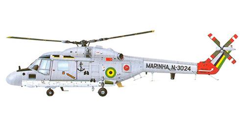 Westland Lynx Mk.21, 1er. Escuadrón de Helicópteros Antisubmarinos, Marina Brasileña.