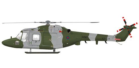 Westland Wg.13 Lynx AH7, cuerpo aéreo del ejército Británico.