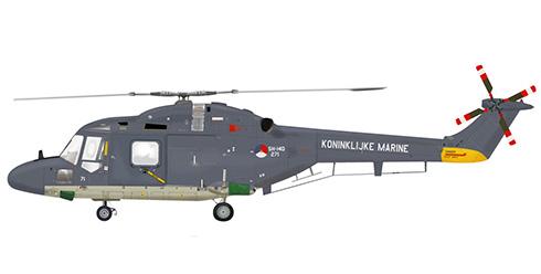 Westland Wg.13 Lynx SH-14D, Armada Real de los Paises Bajos (Koninklijke Marine).