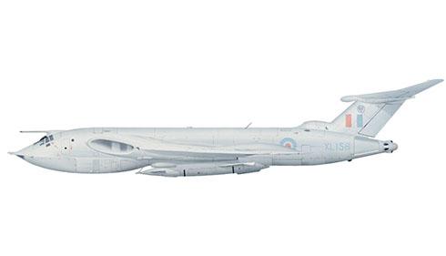 Handley Page Victor B 2R, 139º Escuadrón de la RAF, Base Aérea de Wittering, 1963. Este avión lleva un esquema pintura de baja visibilidad.
