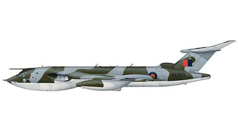 Handley Page Victor B (SR) 2 del 543º Escuadrón de la RAF, Base Aérea de Wyton, 1970.