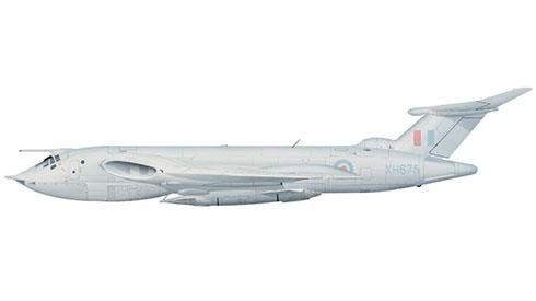 Handley Page Victor B2 R perteneciente al 100º Escuadrón de Bombarderos Estrátegicos de la RAF, Base Aérea de Wittering, 1964.