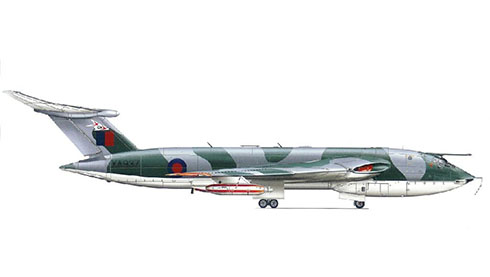 Handley Page Victor K Mk.1 del 214º Escuadrón de la Royal Air Force, Base Aérea de Marham.