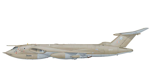 Handley Page Victor K2 del 55º Escuadrón de la Royal Air Force, Base Aérea de Marham, 1992.