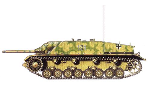 jagdpanzer-iv-sdkfz-162-ausf-f-130o-brigada-lehr-division-panzer-lehr-normandia-julio-de-1944