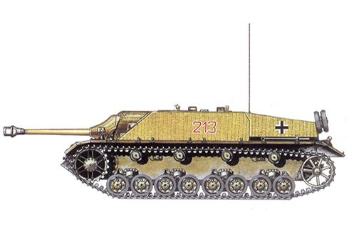 Jagdpanzer IV SdKfz. 162 Ausf F, 228º Batallón Panzer, 116ª División Panzer, Ardenas, Diciembre de 1944
