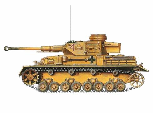 Panzerkampfwagen IV Ausf F2, 5º Reimiento Panzer, 21ª División Panzer, Alam Halfa, Egipto, 1942.