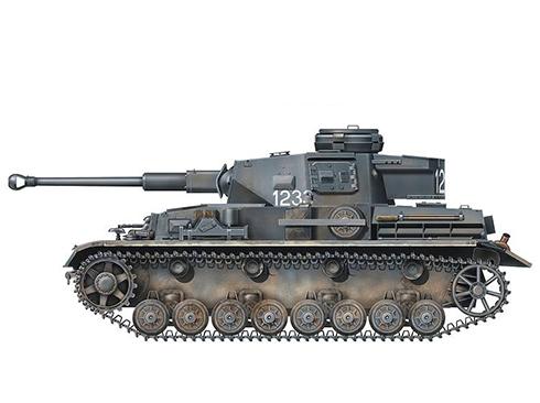 Panzerkampfwagen IV Ausf F2, Stalingrado, Unión Soviética, 1943.