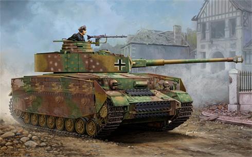 Panzerkampfwagen IV Ausf H, 9ª División Panzer, Alemania. 1945.