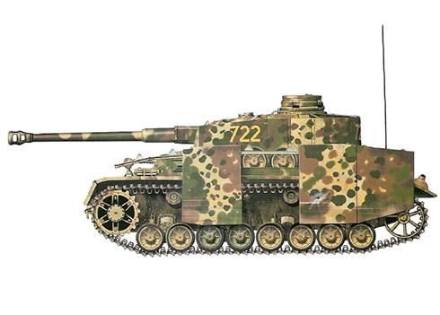 Panzerkampfwagen IV Ausf. H, 9ª División Panzer, Alemania, Abril de 1945.