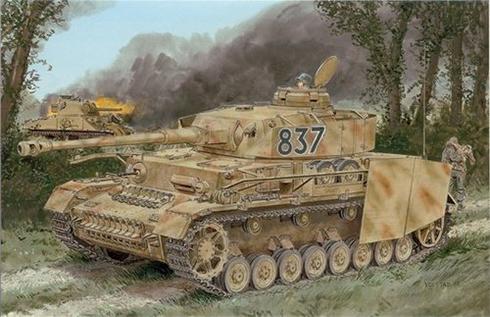Panzerkampfwagen IV Ausf. H, con pasta antimagnética zimerita.