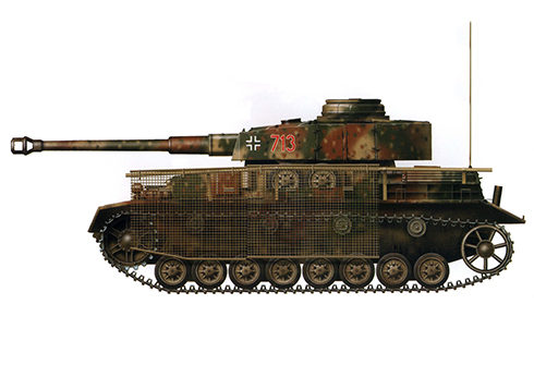Panzerkampfwagen IV Ausf. J, 116ª División Panzer, Ardenas, 1944.
