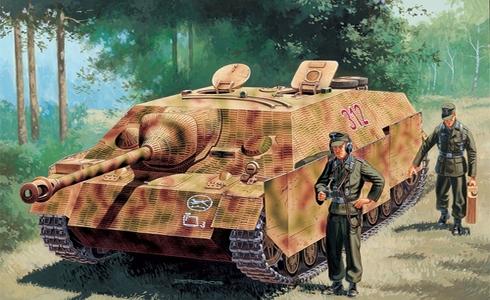 Jagdpanzer IV L/48 Sd.Kfz. 162 Ausf F.