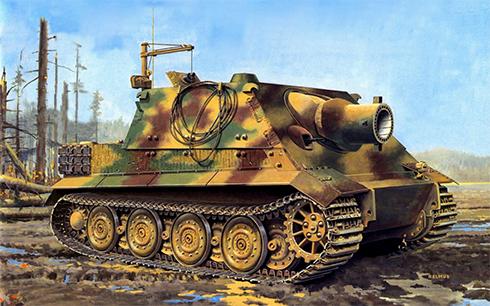 Sturmmörser Tiger, Frente del Este, verano de 1944.