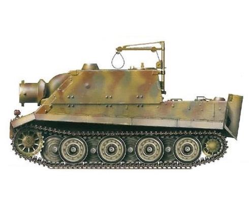 Sturmmöser Tiger, Compañía 1000, Batería de morteros pesados, primavera de 1945.