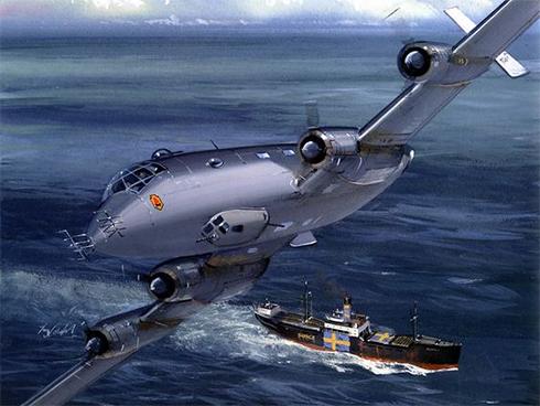 Junkers Ju-290 A5, Patrulla Aérea de Reconocimiento Marítimo, 1944.