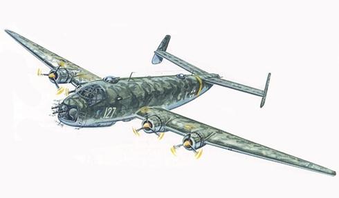 Junkers Ju-290 B1, Luftwaffe, Bombardero de larga distancia y reconocimiento Aéreo.