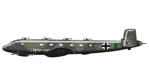 Junkers Ju-290 A6, Patrulla marítima y Transporte aéreo, Luftwaffe. 1943.