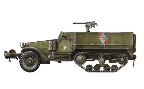 Semioruga m3 soldados del mundo for Motores y vehiculos nj